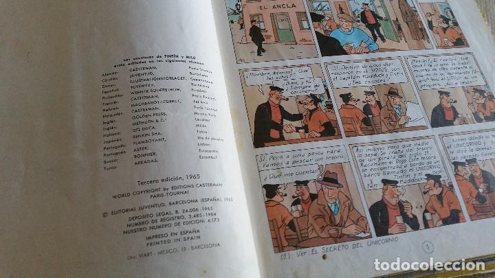 Cómics: LOTE DE TINTIN - CETRO DE OTTOKAR (SEGUNDA EDICIÓN) - TESORO DE RACKHAM EL ROJO (TERCERA EDICIÓN) - Foto 6 - 89241792