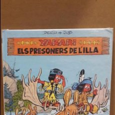 Cómics: YAKARI Nº 9. ELS PRESONERS DE L'ILLA. DERIB + JOB. ED / JUVENTUD - 1988.. Lote 89273668
