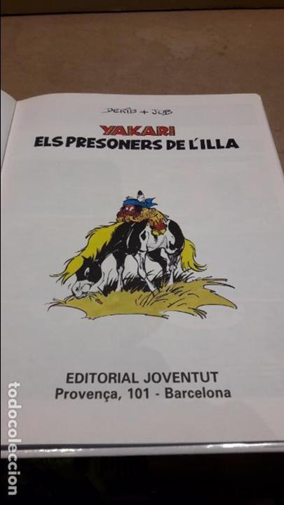 Cómics: YAKARI Nº 9. ELS PRESONERS DE L'ILLA. DERIB + JOB. ED / JUVENTUD - 1988. - Foto 2 - 89273668