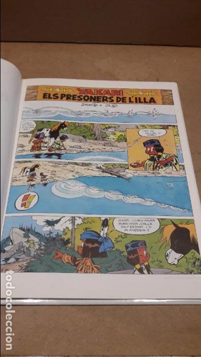 Cómics: YAKARI Nº 9. ELS PRESONERS DE L'ILLA. DERIB + JOB. ED / JUVENTUD - 1988. - Foto 4 - 89273668