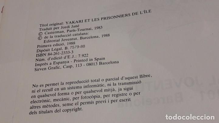 Cómics: YAKARI Nº 9. ELS PRESONERS DE L'ILLA. DERIB + JOB. ED / JUVENTUD - 1988. - Foto 5 - 89273668