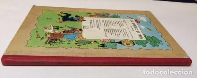 Cómics: Tintín. Juventud. El loto azul. Hergé, Tercera edición 1970. Lomo tela - Foto 2 - 89654228