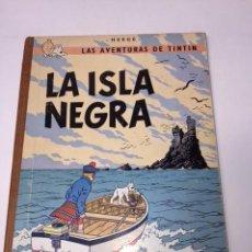 Cómics: TINTÍN. JUVENTUD. LA ISLA NEGRA. HERGÉ, 3ª EDICIÓN 1969. LOMO TELA.. Lote 89654536