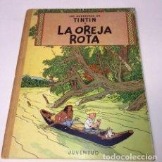 Comics : TINTÍN. JUVENTUD. LA OREJA ROTA. HERGÉ, 3ª EDICIÓN 1969. LOMO TELA.. Lote 89654752