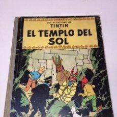Cómics: TINTÍN. JUVENTUD. LAS AVENTURAS DE TINTÍN, EL TEMPLO DEL SOL. 2ª EDICIÓN 1961. LOMO TELA. Lote 89654936