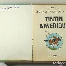 Cómics - 3941- TINTIN EN AMERIQUE. HERGE. EDIT. CASTERMAN. 1947. - 62220747
