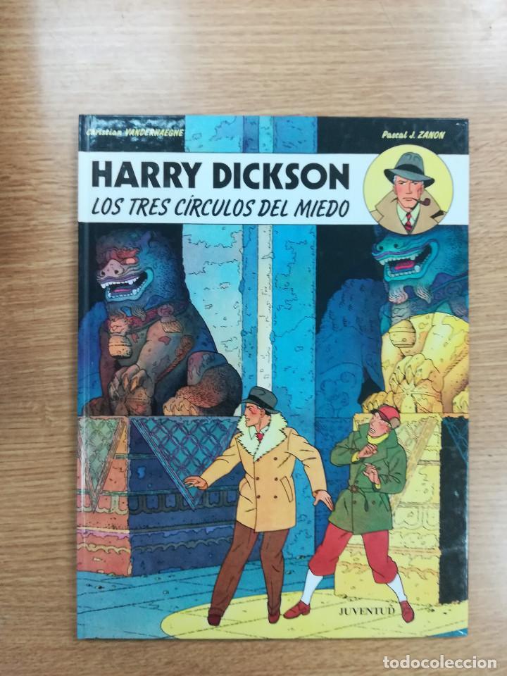 HARRY DICKSON #3 LOS TRES CIRCULOS DEL MIEDO (Tebeos y Comics - Juventud - Otros)