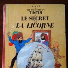 Cómics: TINTIN - LE SECRET DE LA LICORNE - CASTERMAN - B26 - 1958/1959. Lote 90078252