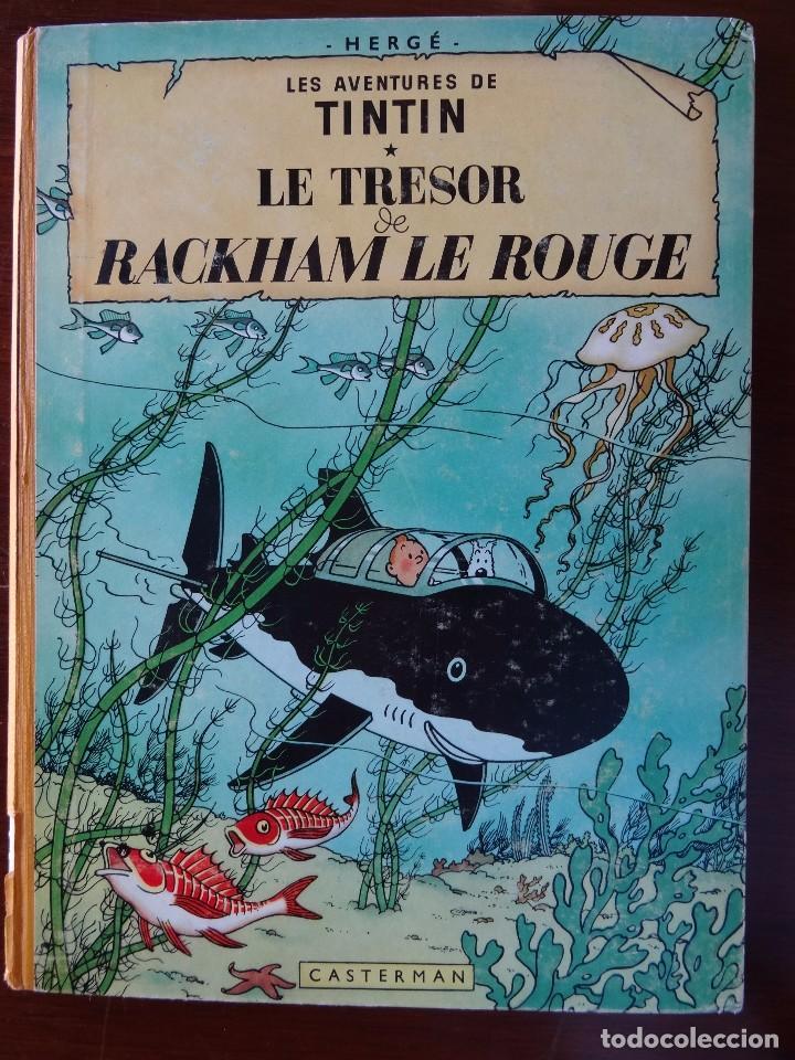 TINTIN - LE TRESOR DE RACKHAM LE ROUGE - CASTERMAN - B26 - 1958/1959 (Tebeos y Comics - Juventud - Tintín)