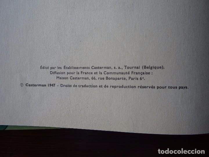 Cómics: TINTIN - LE TRESOR DE RACKHAM LE ROUGE - CASTERMAN - B26 - 1958/1959 - Foto 4 - 90079156