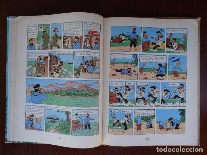 Cómics: TINTIN - LE TRESOR DE RACKHAM LE ROUGE - CASTERMAN - B26 - 1958/1959 - Foto 18 - 90079156