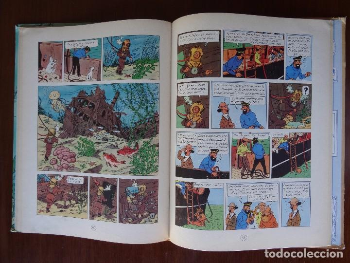 Cómics: TINTIN - LE TRESOR DE RACKHAM LE ROUGE - CASTERMAN - B26 - 1958/1959 - Foto 25 - 90079156