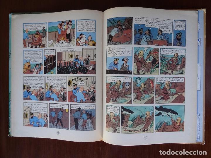 Cómics: TINTIN - LE TRESOR DE RACKHAM LE ROUGE - CASTERMAN - B26 - 1958/1959 - Foto 27 - 90079156
