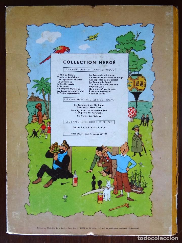 Cómics: TINTIN - LE TRESOR DE RACKHAM LE ROUGE - CASTERMAN - B26 - 1958/1959 - Foto 42 - 90079156