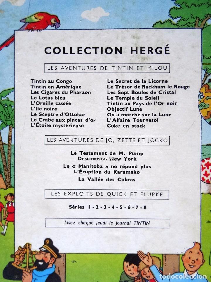Cómics: TINTIN - LE TRESOR DE RACKHAM LE ROUGE - CASTERMAN - B26 - 1958/1959 - Foto 43 - 90079156