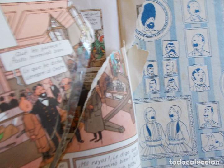 Cómics: TINTIN El tesoro de Rackham el Rojo 2ª Edición Lomo de tela - Foto 6 - 90094688