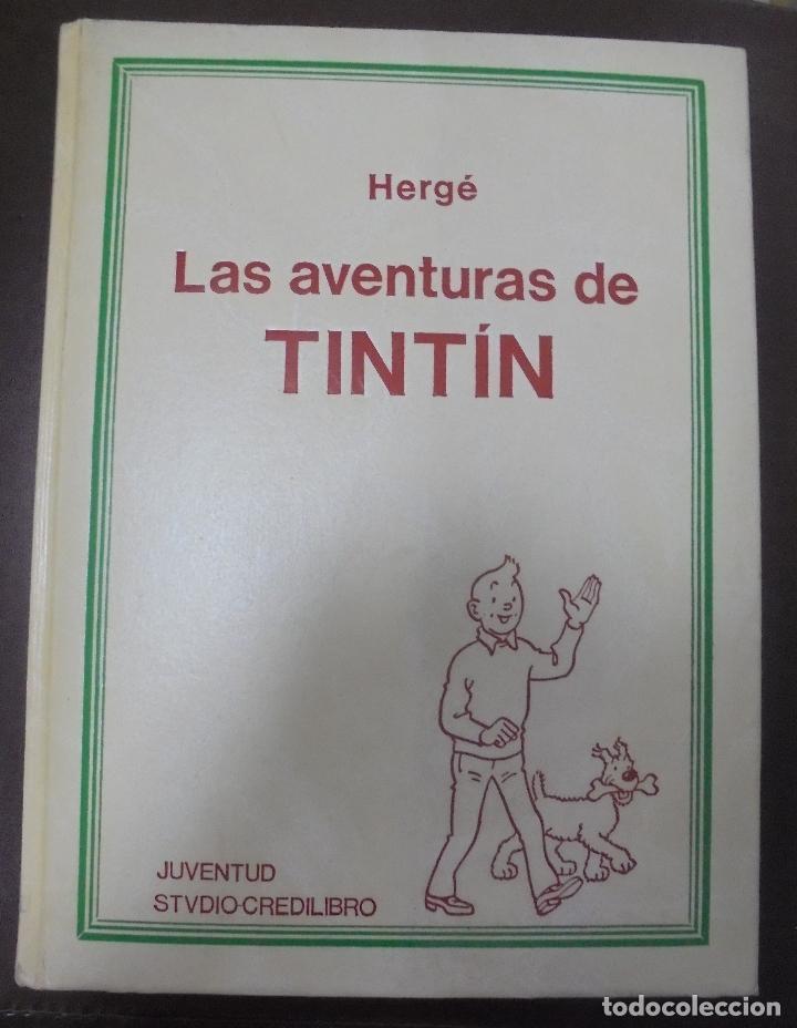 LAS AVENTURAS DE TINTIN. HERGE. TOMO 4. EDITORIAL JUVENTUD. STUDIO-CREDILIBRO. BUEN ESTADO (Tebeos y Comics - Juventud - Tintín)
