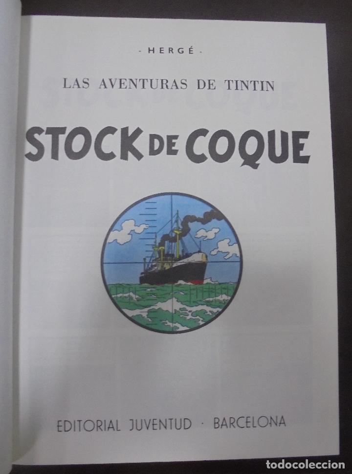 Cómics: LAS AVENTURAS DE TINTIN. HERGE. TOMO 4. EDITORIAL JUVENTUD. STUDIO-CREDILIBRO. BUEN ESTADO - Foto 2 - 90506150