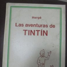 Cómics: LAS AVENTURAS DE TINTIN. HERGE. TOMO 2. EDITORIAL JUVENTUD. STUDIO-CREDILIBRO. BUEN ESTADO. Lote 90506655