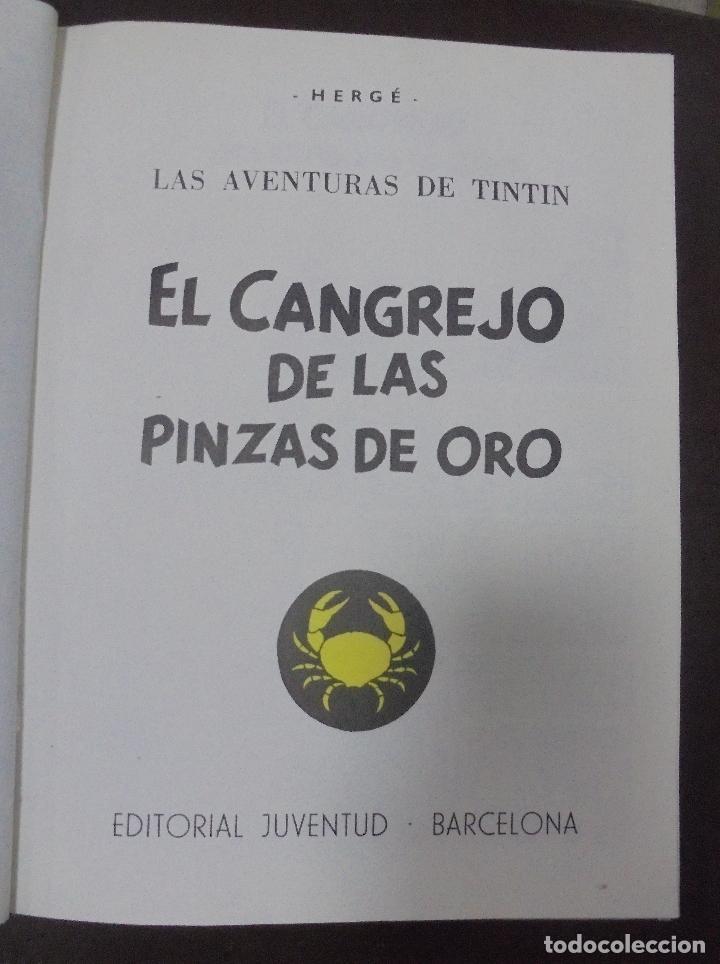 Cómics: LAS AVENTURAS DE TINTIN. HERGE. TOMO 2. EDITORIAL JUVENTUD. STUDIO-CREDILIBRO. BUEN ESTADO - Foto 2 - 90506655