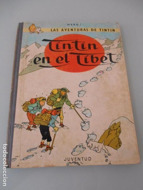 TINTÍN EN EL TÍBET - 3ª EDICIÓN 1967 (CON TODAS LAS FOTOS DEL CÓMIC, MIRE DENTRO) (Tebeos y Comics - Juventud - Tintín)