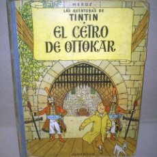 Cómics: EL CETRO DE OTTOKAR - LAS AVENTURAS DE TINTIN - JUVENTUD - QUINTA EDICION 1972. Lote 90688630
