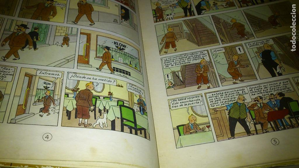 Cómics: EL CETRO DE OTTOKAR - LAS AVENTURAS DE TINTIN - JUVENTUD - QUINTA EDICION 1972 - Foto 4 - 90688630