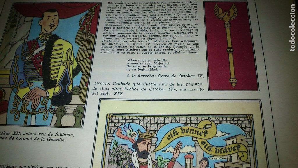 Cómics: EL CETRO DE OTTOKAR - LAS AVENTURAS DE TINTIN - JUVENTUD - QUINTA EDICION 1972 - Foto 5 - 90688630