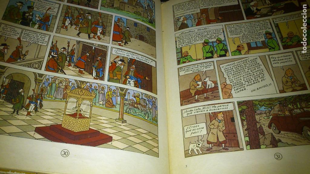 Cómics: EL CETRO DE OTTOKAR - LAS AVENTURAS DE TINTIN - JUVENTUD - QUINTA EDICION 1972 - Foto 6 - 90688630