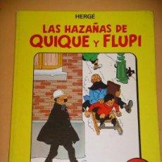 Cómics: LAS HAZAÑAS DE QUIQUE Y FLUPI TOMO Nº 2, HERGÉ, TAPA DURA, ED. JUVENTUD, 1ª EDICIÓN, AÑO 1987, 26C. Lote 91182625