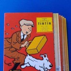Cómics: TINTIN CAJA ESPECIAL AVENTURAS EN AMÉRICA (AMÉRICA;PÍCAROS;BOLAS;TEMPLO;OREJA) CASTERMAN PANINI. Lote 91754600