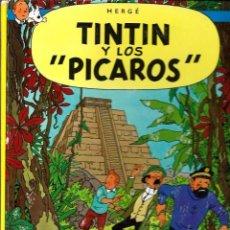 Cómics: HERGE - TINTIN Y LOS PICAROS - JUVENTUD 1976 1ª EDICION ESPAÑOLA - TAPA DURA - VER DESCRIPCION. Lote 92180665