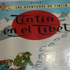 Cómics: CÓMIC TINTÍN EN EL TIBET DE JUVENTUD AÑO 87. Lote 92238208