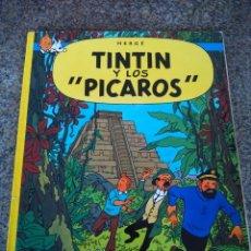 Cómics: TINTIN Y LOS PICAROS -- HERGE -- EDITORIAL JUVENTUD - 1983 - TAPA BLANDA --. Lote 92842205