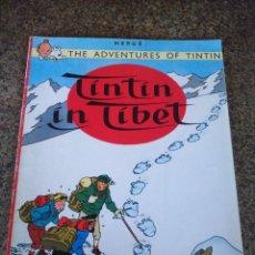 Cómics: TINTIN IN TIBET -- HERGE - EDICIONES DEL PRADO -- EN INGLES --TAPA BLANDA --. Lote 92843070