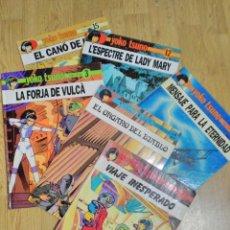 Cómics: 6 TEBEOS O CÓMICS DE YOKO TSUNO ED.RASGOS Y JUVENTUD DE 1983/90 CASTELLANO/CATALAN NºS 1,2,3,5,12,15. Lote 92849495