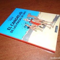Cómics: TINTIN, EL CANGREJO DE LAS PINZAS DE ORO, CASTERMAN DIFUSIÓN Y DISTRIBUCIÓN PANINI ESPAÑA, TAPA DURA. Lote 93208940