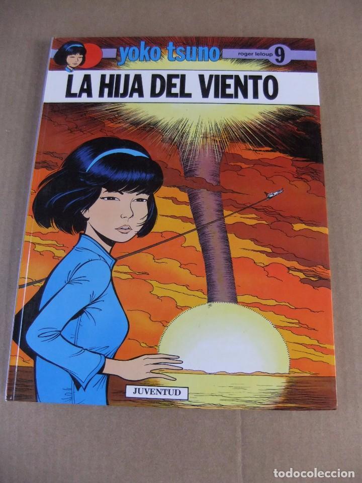 YOKO TSUNO Nº 9 LA HIJA DEL VIENTO EDITORIAL JUVENTUD TAPA DURA (Tebeos y Comics - Juventud - Yoko Tsuno)