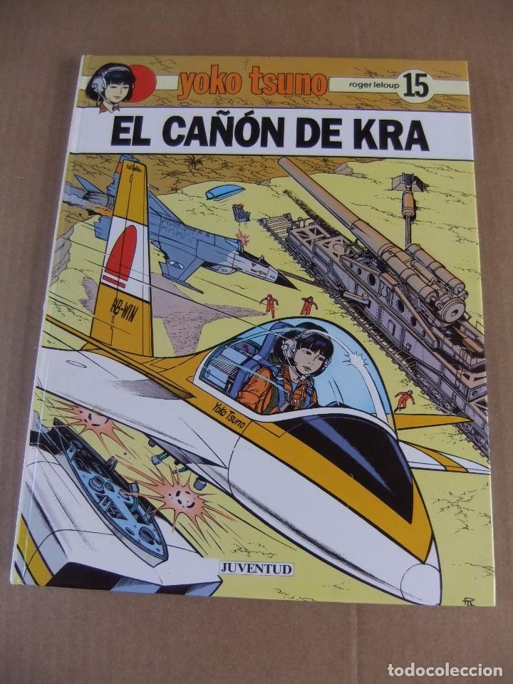 YOKO TSUNO Nº 15 EL CAÑON DE KRA EDITORIAL JUVENTUD TAPA DURA (Tebeos y Comics - Juventud - Yoko Tsuno)