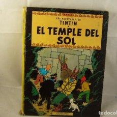 Cómics: LAS AVENTURAS DE TINTÍN . EL TEMPLE DEL SOL. Lote 93600355