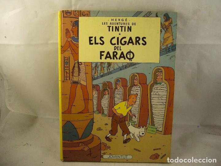 LES AVENTURES DE TINTIN ELS CIGARS DEL FARAO (Tebeos y Comics - Juventud - Tintín)