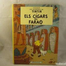 Cómics: LES AVENTURES DE TINTIN ELS CIGARS DEL FARAO. Lote 93600750