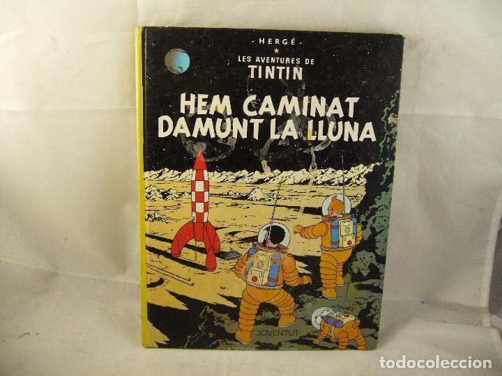 LES AVENTURES DE TINTIN HEM CAMINAT DAMUNT LA LLUNA (Tebeos y Comics - Juventud - Tintín)