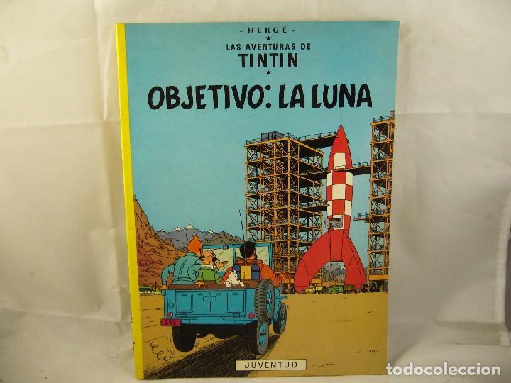 LAS AVENTURAS DE TINTIN - OBJETIVO: LA LUNA (Tebeos y Comics - Juventud - Tintín)