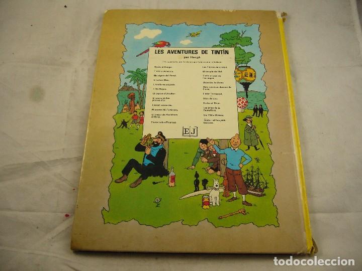 Cómics: TINTIN AL PAIS DE LOR NEGRE / HERGÉ / 1990 / EDITORIAL JOVENTUT/ ILUSTRADO - Foto 3 - 93601260