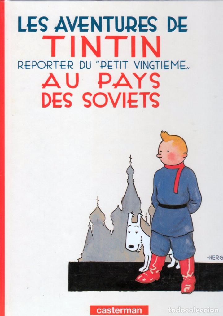 LES AVENTURES DE TINTIN - AU PAYS DES SOVIETS - TAPA DURA 1999 CASTERMAN - 30 X 22,5 CMS (Tebeos y Comics - Juventud - Tintín)