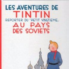 Cómics: LES AVENTURES DE TINTIN - AU PAYS DES SOVIETS - TAPA DURA 1999 CASTERMAN - 30 X 22,5 CMS. Lote 93622280