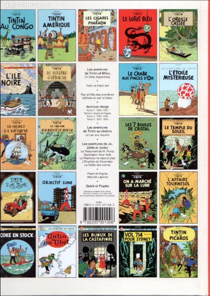 Cómics: LES AVENTURES DE TINTIN - AU PAYS DES SOVIETS - TAPA DURA 1999 CASTERMAN - 30 X 22,5 CMS - Foto 2 - 93622280