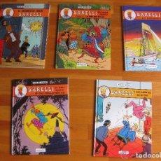 Cómics: BARELLI COLECCION COMPLETA 5 NUMEROS EDITORIAL JUVENTUD TAPA DURA CASTELLANO. Lote 93633515