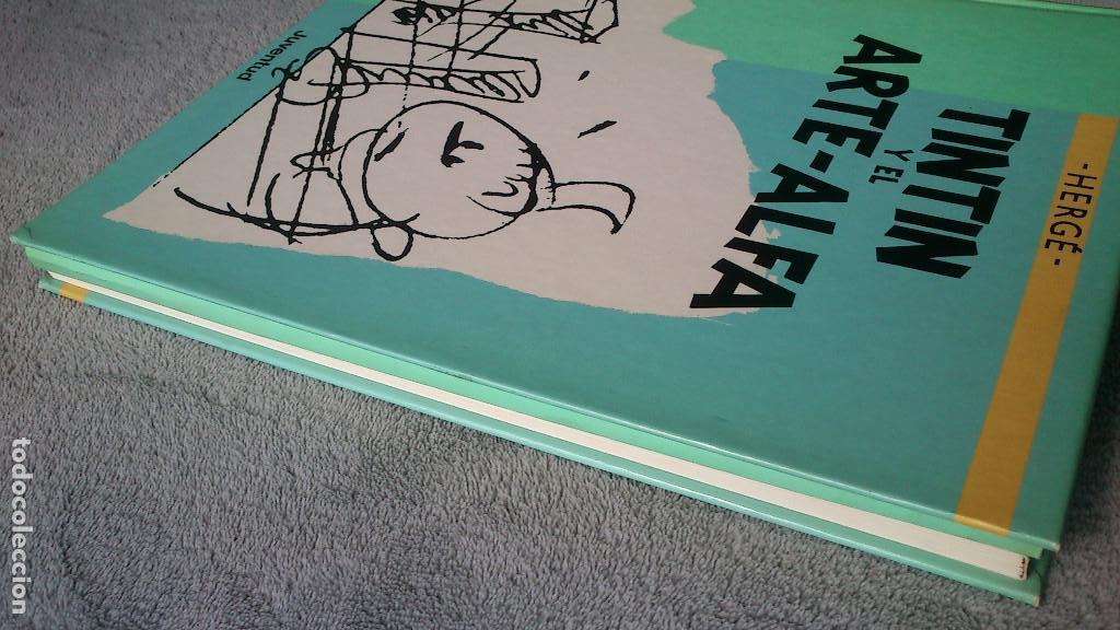 Cómics: TINTIN Y EL ARTE-ALFA - HERGÉ - JUVENTUD - 1ª EDICIÓN 1987 - NUEVO - Foto 3 - 93869075
